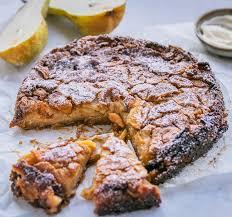 la torta di pere rezept delicuisine lebensmittel essen