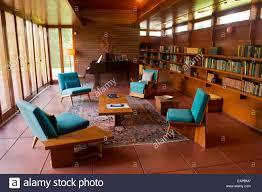 100 Frank Lloyd Wright Houses Interiors House Interior Stock Photos