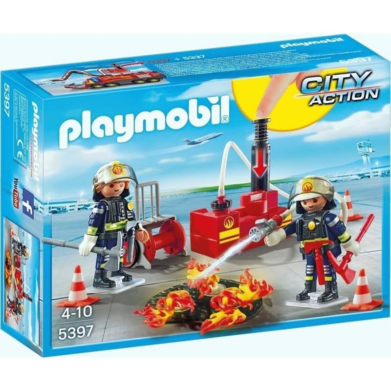 Playmobil City Action Firefighting Operation with Water Pump