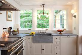 kitchen sink window height kitchen traditional with white cabinet