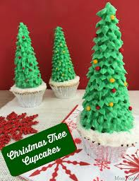 How To Make Christmas Tree Cupcakes