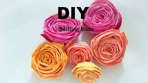 PAPER CRAFT How To Make Paper Quilling Rose Easy Simple DIY In 5 Min Tutorial