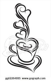 heart coffee cup clipart 8