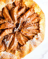 Rustic Pear And Orange Tart Photo Liz Clarkson Styling By Kate Arbuthnot