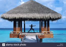 100 One And Only Reethi Rah Maldives North Male Atoll And Hotel Stock