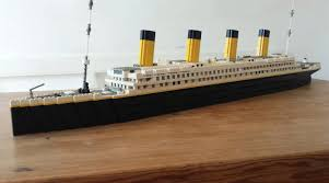 lego ideas rms titanic 46 real life model with lights