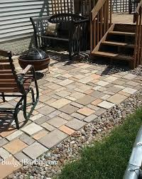 Paver Patio Ideas On A Budget by Best 25 Diy Pavers Patio Ideas On Pinterest Diy Paver Paver