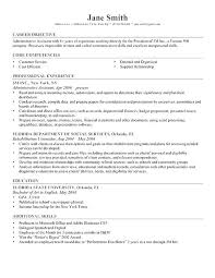 Sample Resume Core Qualifications