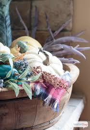Halloween Fireplace Mantel Scarf by Fireplace Mantel Decor In Jewel Tones For Autumn