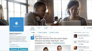 Apple brings customer support service to Twitter