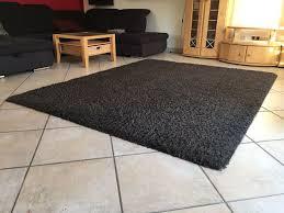 wohnzimmerteppich teppich langflor braun 250x200 cm kibek