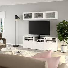 bestå tv storage combination glass doors hanviken sindvik