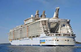 the largest cruise ship in the world is five times the size of the