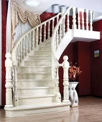 escalier incurvé sur mesure pour villa