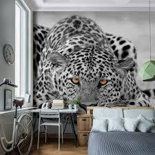 vlies fototapete 39 leopard 39 352x250 cm 9034011b