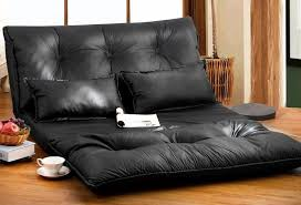 amazon com merax pu leather foldable modern leisure sofa bed