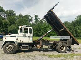 1988 Mack Flatbed - Dump - Scissors Lift Awesome 2000 Ford F250 Flatbed Dump Truck Freightliner Flatbed Dump Truck For Sale 1238 Keven Moore Old Dump Truck Is Missing No More Thanks To Power Of 2002 Lvo Vhd 133254 1988 Mack Scissors Lift 2005 Gmc C8500 24 With Hendrickson Suspension Steeland Alinum Body Welding And Metal Fabrication Used Ford F650 In 91052 Used Trucks Fresno Ca Bodies For Sale Lucky Collector Car Auctions Lot 508 1950 Chevrolet