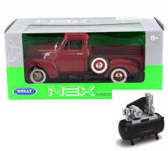 Diecast Car & Air Compressor Package - 1953 Chevy 3100 Pick-Up Truck ... Buy Now Giantz 320l 12v Air Compressor Tyre Deflator Inflator 4wd Dc Air For Horn Car Truck Auto Vehicle Electric Heavy Duty Portable 1 Tire Pump Rv Diecast Package Caterpillar Ep16 C Pny Lift Twin Piston 4x4 Da2392 Mounted Compressors Pb Loader Cporation Brake 3558006 Cummins Engine New Puma Gas At Texas Center Serving For Trucks With Nhc 250 Diesel Engine The 4 Best Tires Essential 30 Gallon Twostage Mount Princess