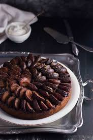 Spiced Plum Cake Recipe