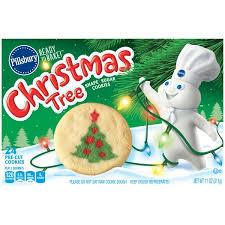 Christmas Tree Preservative Recipe Sugar by Pillsbury Ready To Bake Christmas Tree Shape Sugar Cookies 11 Oz