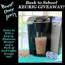 WIN A Keurig Platinum Brewing System Pack Of Iced Coffee K Cups