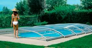 Low Swimming Pool Enclosure Sliding Aluminum Manual