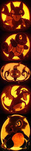 Pokemon Pumpkin Patterns by Charizard Awesome Pumpkins Pinterest