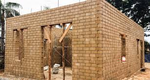 100 Brick Walls In Homes Houses Made With Clay S Stabilised Earth