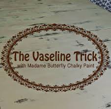 Vaseline Trick Chippy Distressed Farmhouse Rustic Kitchen Table Furniture Ideas
