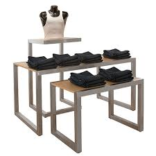 Retail Display Nesting Tables 3 Piece Set