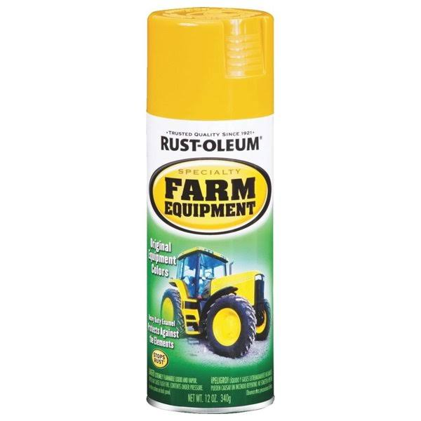 Rust-Oleum Enamel Spray Paint - Yellow, 12oz