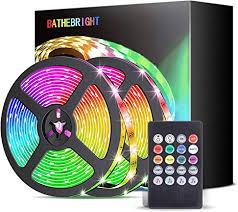 led led streifen 5m led band rgb led lichterkette mit farbwechselnde bandbeleuchtung mit fernbedienung für wohnzimmer küche schlafzimmer