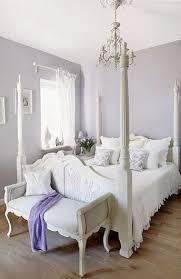 Lavender Guest Room Shabby Chic Villa In Poland Romantic Interiors White Home