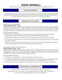 Universal Banker Resume Sample Personal Objective Chase Private Objec Commercial
