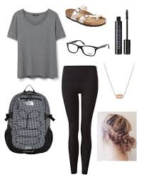 School Day Outfit By Katelynb28 On Polyvore Featuring MANGO Birkenstock Ray