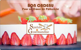 carte cadeau cours de cuisine offrir un cours de pâtisserie spatule et gourmandise