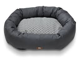 Bolster Dog Bed by Bumper Bed With Hemp West Paw Inc