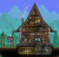 Exquisite House Terraria and House
