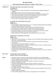 Download Hardware Engineering Manager Resume Sample As Image File