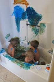 bathtub finger paint tubethevote