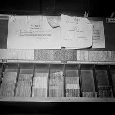▷Preparando E Imprimiendo El New York Times 1942 FotosCuriosas