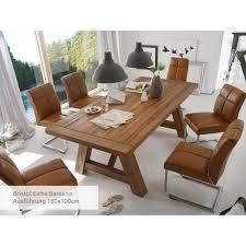 mca furniture bristol esstisch eiche massiv 180x100