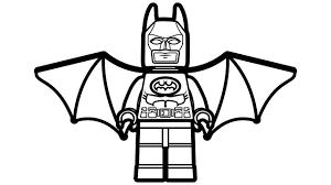 Batman Color Pages Lego Coloring Book