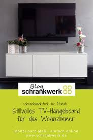 tv hängeboard für das wohnzimmer schrankwerk de