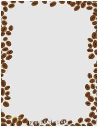 Printable Teddy Bear Baby Shower Invitations Awesome Coffee Beans Border Use The In Microsoft