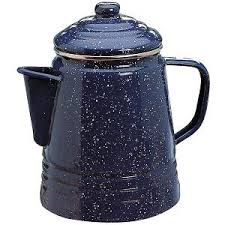 Camping Coffee Pot Coleman 9 Cup Percolator