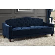 Tufted Velvet Sofa Bed by Novogratz Vintage Tufted Sofa Sleeper Ii Multiple Colors