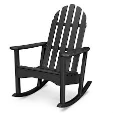POLYWOOD Classic Adirondack Plastic Rocking Chair With Slat Seat At ... Garden Tasures Rocking Chair With Slat Seat At Lowescom Adams Mfg Corp Kids Stackable Resin Creative Patio Chairs Lowes From Audubon Alinum Swivel Widely Used Livingroom At White Outdoor Fniture Rugs Cool By Hinkle Company Nursery Cushions Safety Front House Kohls Decoration Astonishing Pad Paint All Modern Intertional Concepts Acacia 22 Unique Plastic Galleryeptune