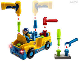 100 Truck Tools Amazoncom WolVol Toy Equipped With Electric Drill And