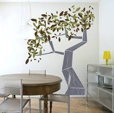Painted Dining Table Ideas Full Size Of Room Wall Paint Designs Tree